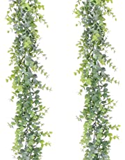 YQing Artificial Leaf Garland Plants Vine