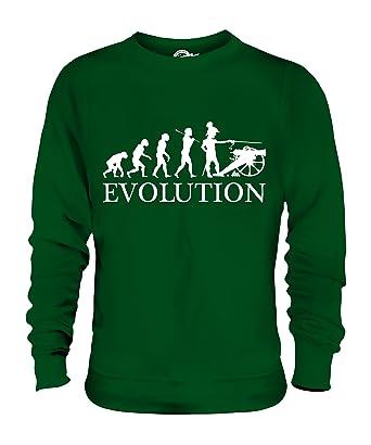CandyMix Sezessionskrieg Amerikanischer Bürgerkrieg Evolution Des Menschen  Unisex Herren Damen Sweatshirt, Größe Medium, Farbe