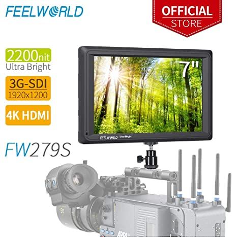 fa564c5a44 Feelworld FW279S 7 Pollici On Camera DSLR Field Monitor Full HD Focus Video  Assist 1920x1200 IPS