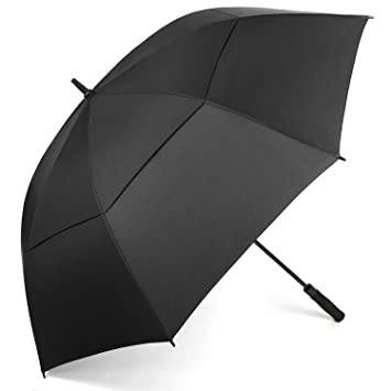 Rainlax Windproof Golf umbrella 62 Inch Extra Large Double Canopy Automatic Open Outdoor Rainu0026Wind Umbrellas (  sc 1 st  Amazon.com & Amazon.com : Rainlax Windproof Golf umbrella 62 Inch Extra Large ...