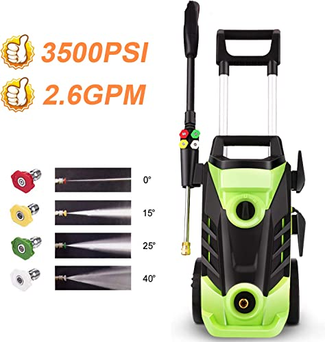 Homdox 3500PSI Electric Pressure Washer