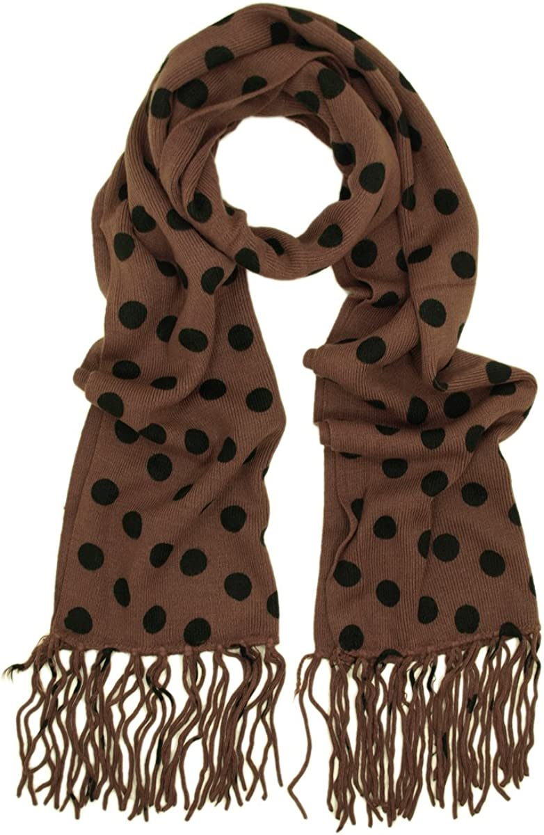 Soft Knit Polka Dots...
