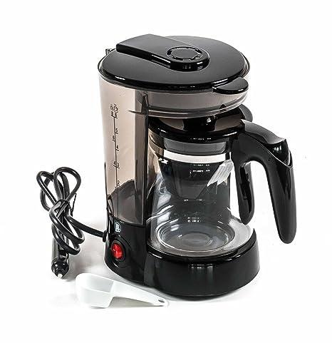 Cafetera eléctrica para 6 tazas con función de calentamiento ...