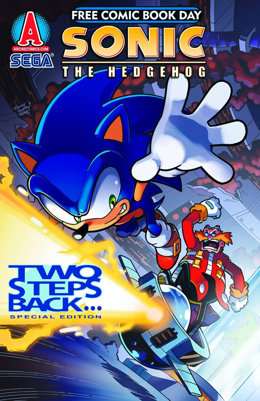 Read Online Sonic the Hedgehog FCBD 2012 Two Steps Back ebook