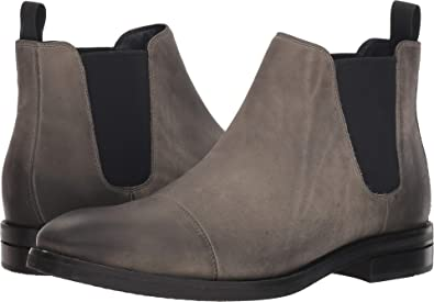 fb0d21cce91c7 Cole Haan Mens Wagner Grand Waterproof Chelsea Boot 7 Midnight Gray  Waterproof Nubuck