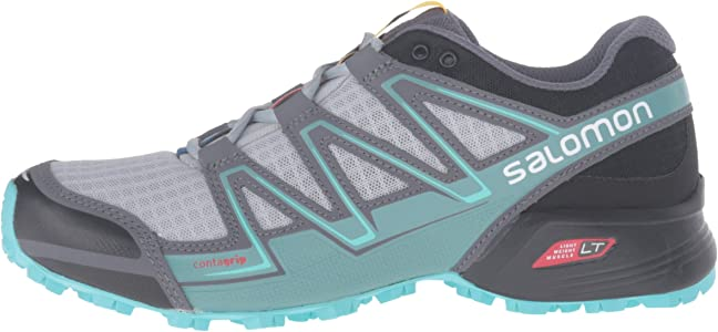 Salomon L38310700, Zapatillas de Trail Running para Mujer, Gris ...