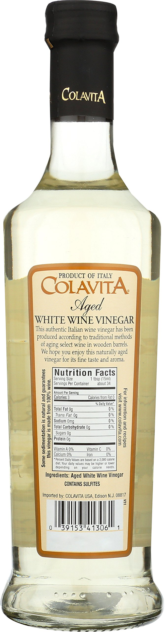 Colavita White Wine Vinegar, 17 oz by Colavita (Image #2)