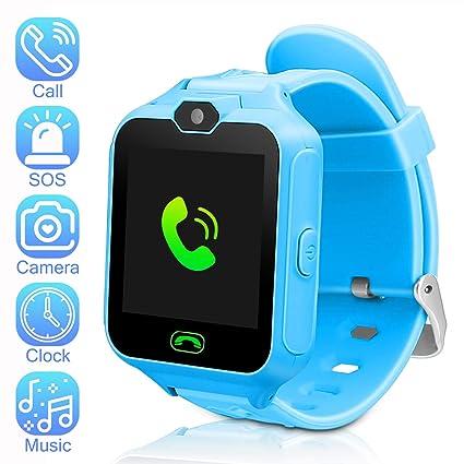 Amazon.com: Reloj inteligente para niños, reloj inteligente ...