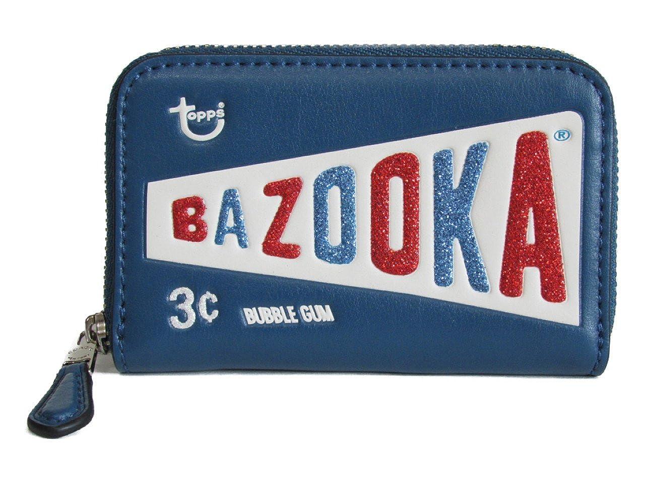 [コーチ] 小銭入れ コイン ケース バズーカ COACH BAZOOKA Zip Coin Case F26391 SV/IK SV/Ink [並行輸入品]   B07FRVJW56