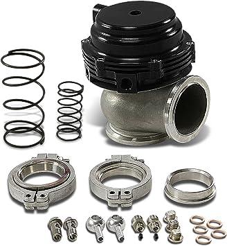 DNA Motoring WG-44MM-BK Black 44mm Water Cooled External Turbo Manifold Wastegate