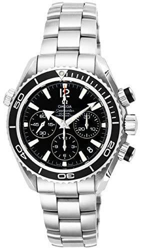 Relojes Omega Seamaster Planeta Océano Negro Dial 600 M impermeable coaxial automático cronógrafo 222.30.38.50.01.001: Amazon.es: Relojes