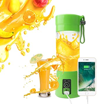 A SZCXTOP Portable Electric Fruit Juicer Cup 380 Milliliter