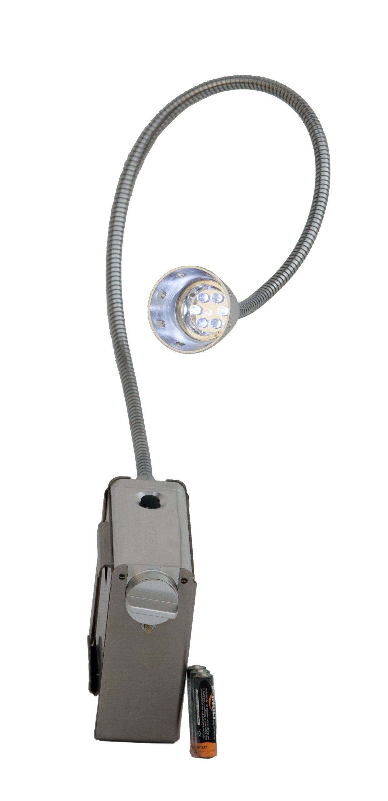 Solaire Stainless Steel Battery-Operated Light for Grills