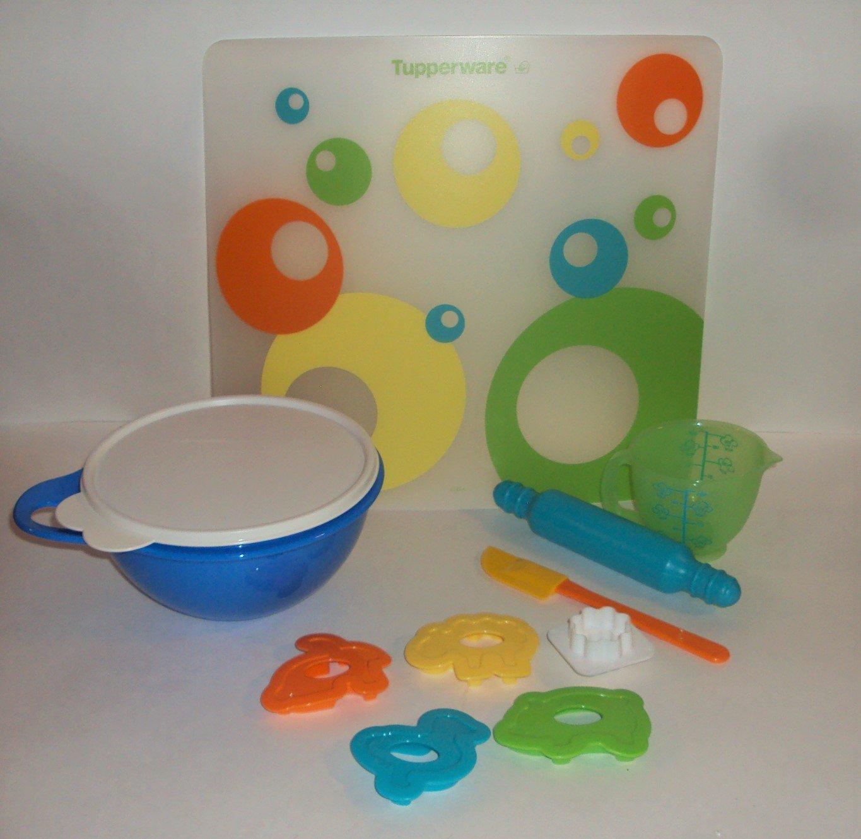 Tupperware Mini Children's Mxing and Baking Play Time Kitchen Set