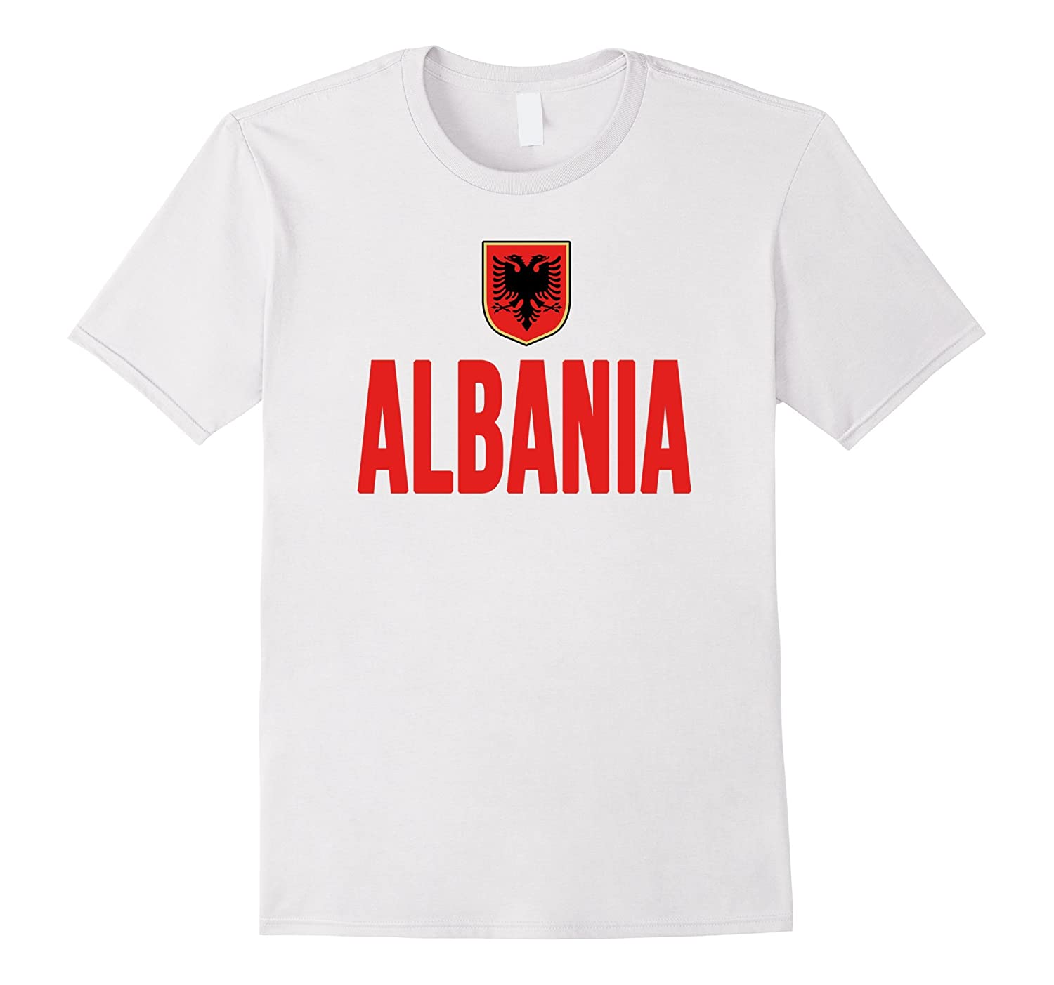 Albania Soccer T-shirt 2016 National Football Team Jersey-Art