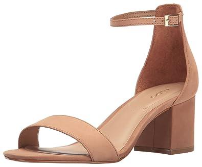 ab53451aee7 Amazon.com | ALDO Women's Villarosa Heeled Sandal, Cognac, 10 B US ...