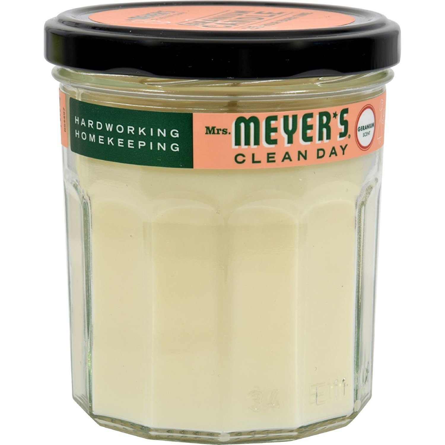 Mrs. Meyer s Soy Candle - Geranium - Case of 6 - 7.2 oz Candles by Mrs. Meyer's Clean Day (Image #1)