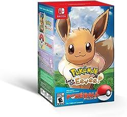 Pokémon: Let's Go, Eevee! + Poké Ball Plus Pack