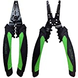 Wire Stripper, Cutter, Crimper Multi-Function Hand