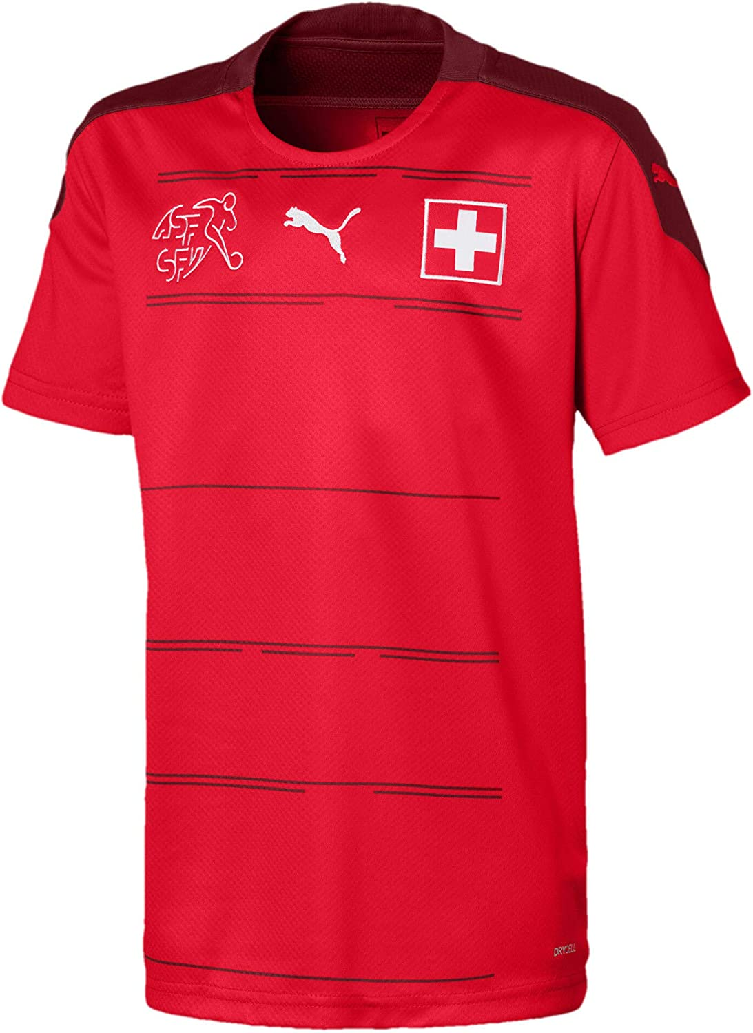 Top 8 Swiss Home Football Shirt