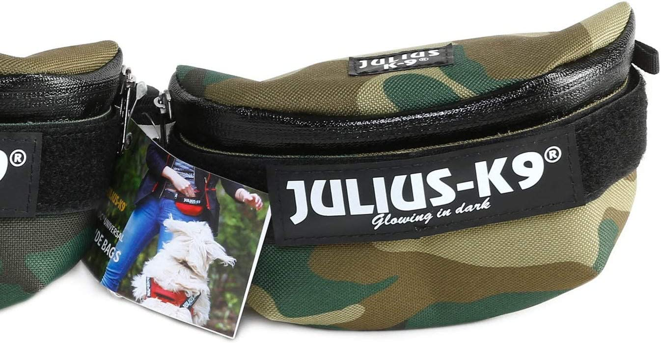 Julius-K9 IDC Universal Bolsas Laterales, Tamaño: Mini to 4 ...