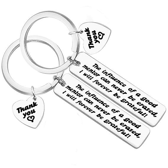 Amazon.com: 2 llaveros de agradecimiento para compañeros de ...