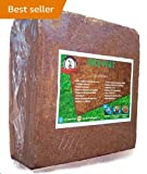 JM Traders Cocopeat Block - 5Kg - Expands Up To 75 Litres Of Coir