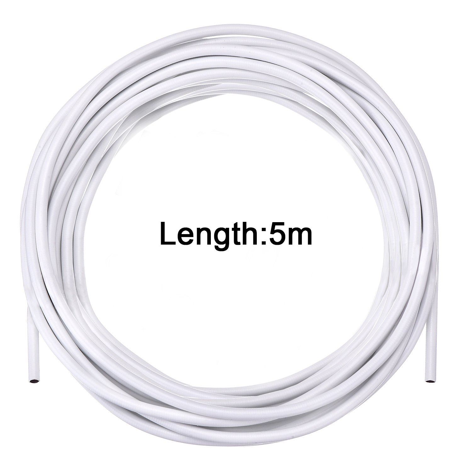 Amazon.com: Bememo White Curtain Wire Hanging Cord Kit with 8 Pieces ...