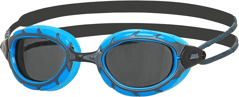 Zoggs Predator Mirror Titanium Gafas de natación, Unisex Adulto