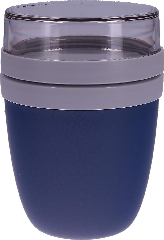 Rosti Mepal Lunch Pot /& Besteckset dunkelblau und wei/ß