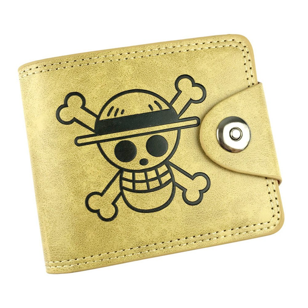 Gumstyle One Piece Anime Cosplay 10 Slots Bifold Wallet Card Holder Purse 2