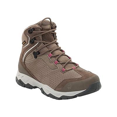 Jack Wolfskin Women's Rock Hunter Texapore MID Women's Waterproof Hiking Boot Boot   Hiking Boots