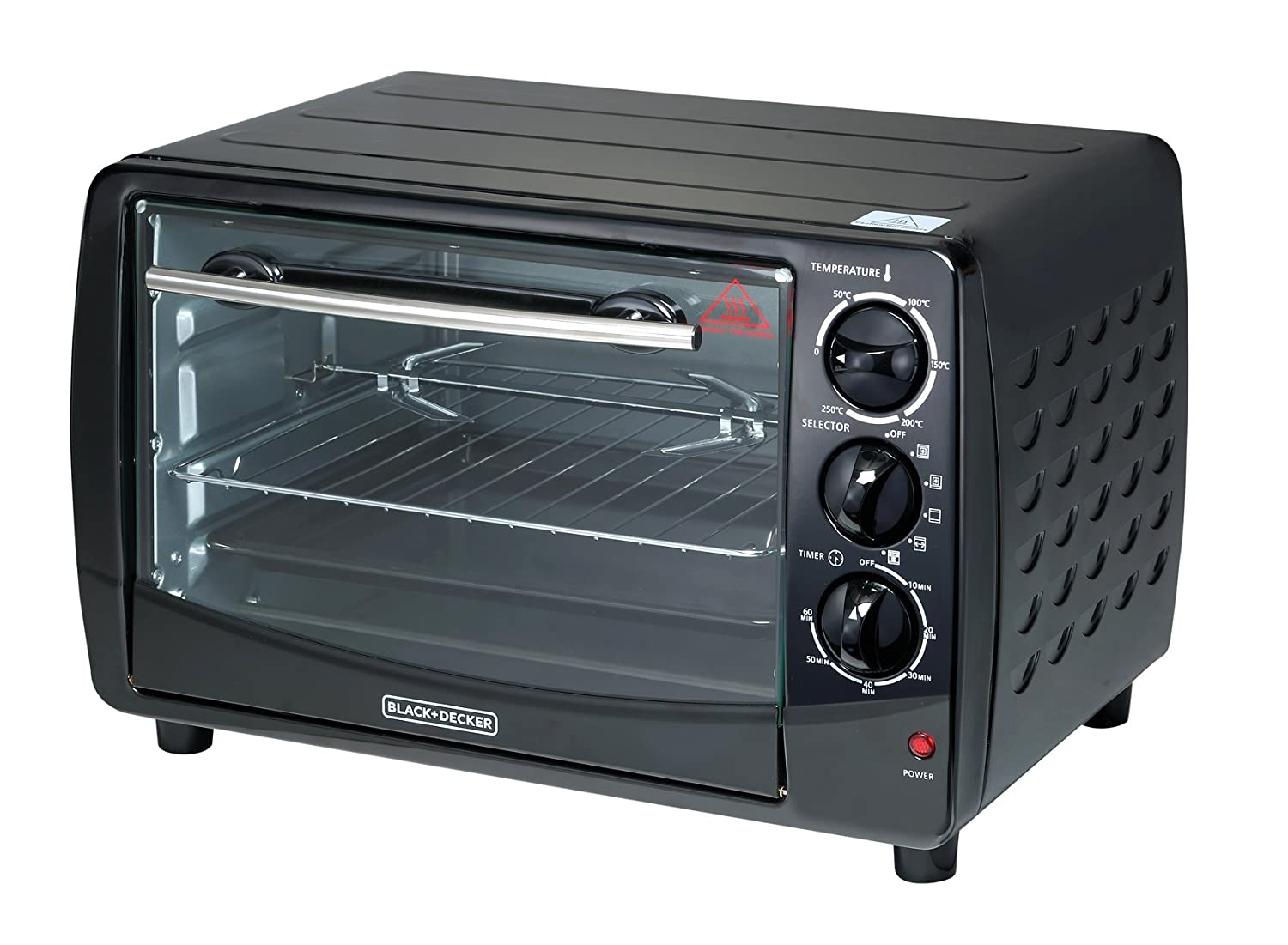 Black & Decker TRO50 28-Liter Toaster Oven 220 Volts (Not for USA) Large Black