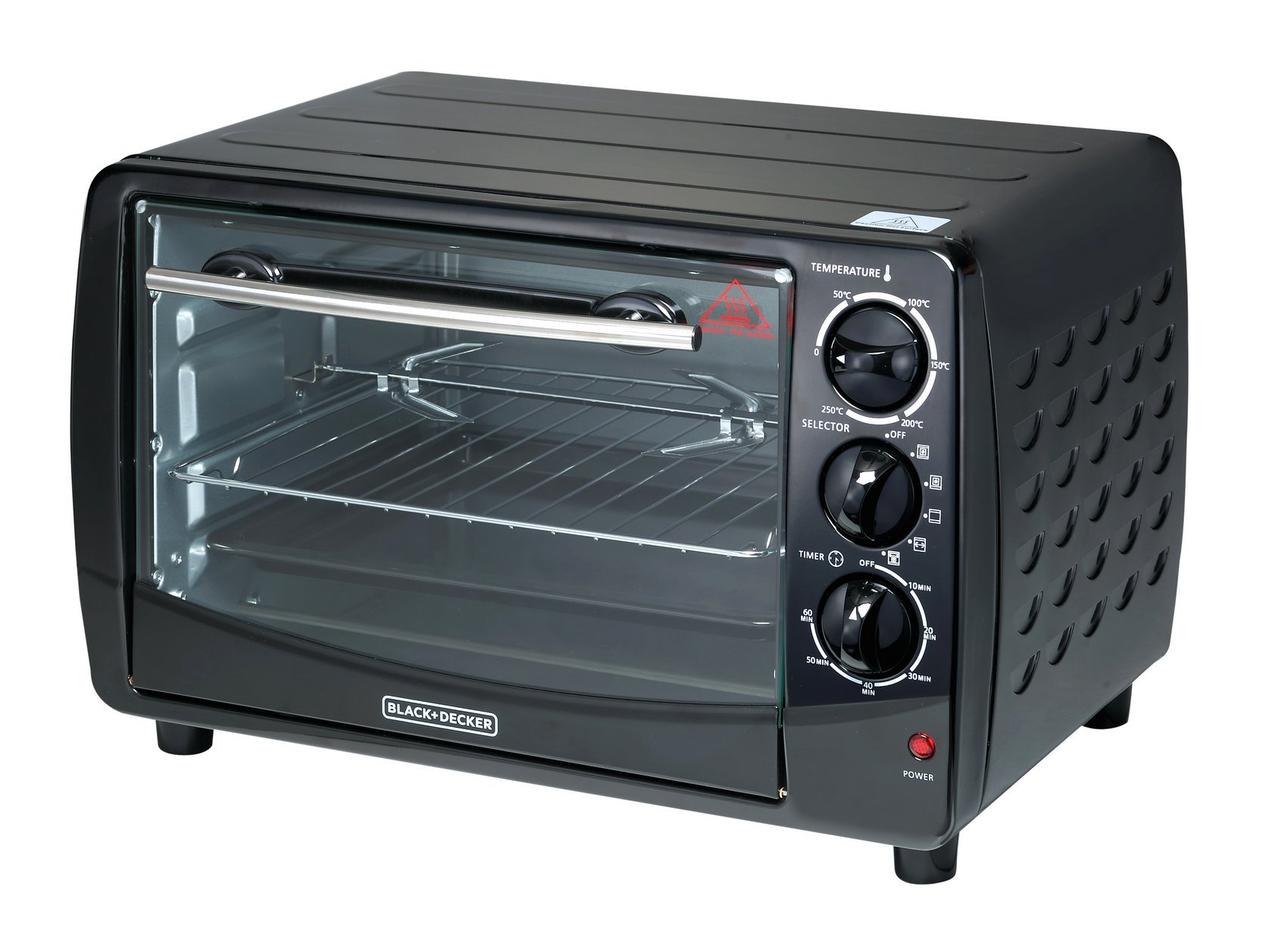 Black and Decker TRO50 28-Liter Toaster Oven, Large