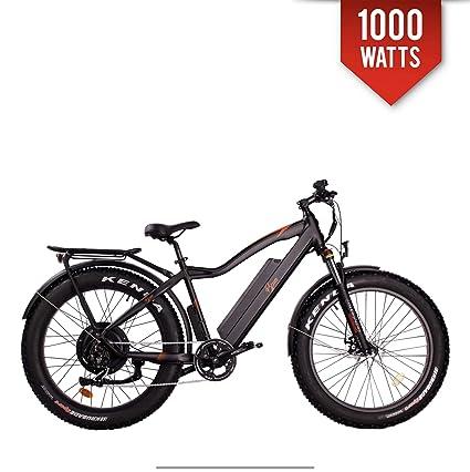 "BPM Fast F-95 1000W 17AH 48V Fat TIRE Electric Bicycle E-Bike Snow Mountain  26"" Samsung Battery"