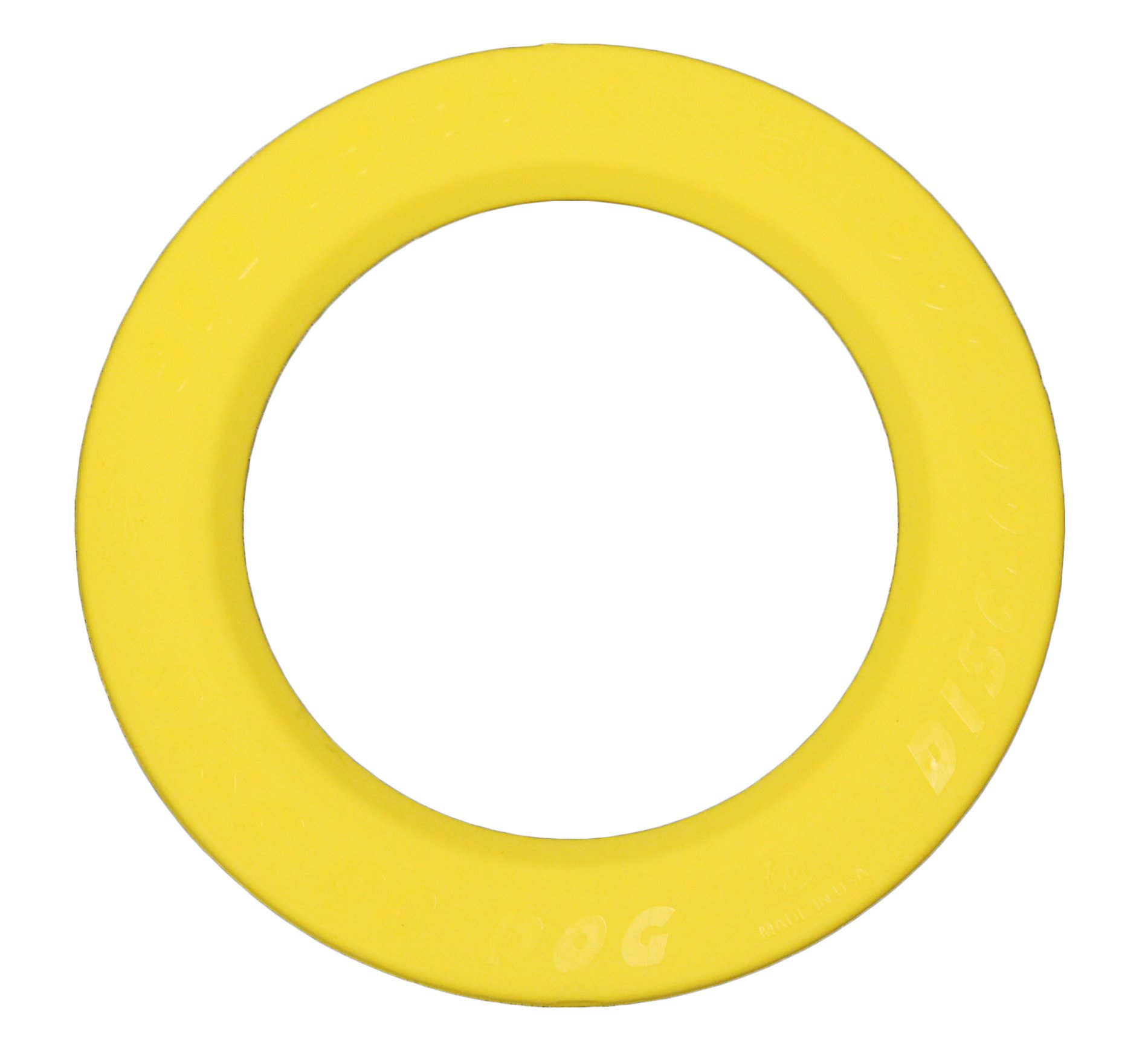 The Perfect Pet Products Disc-Go Dog Flying Disc, Yellow