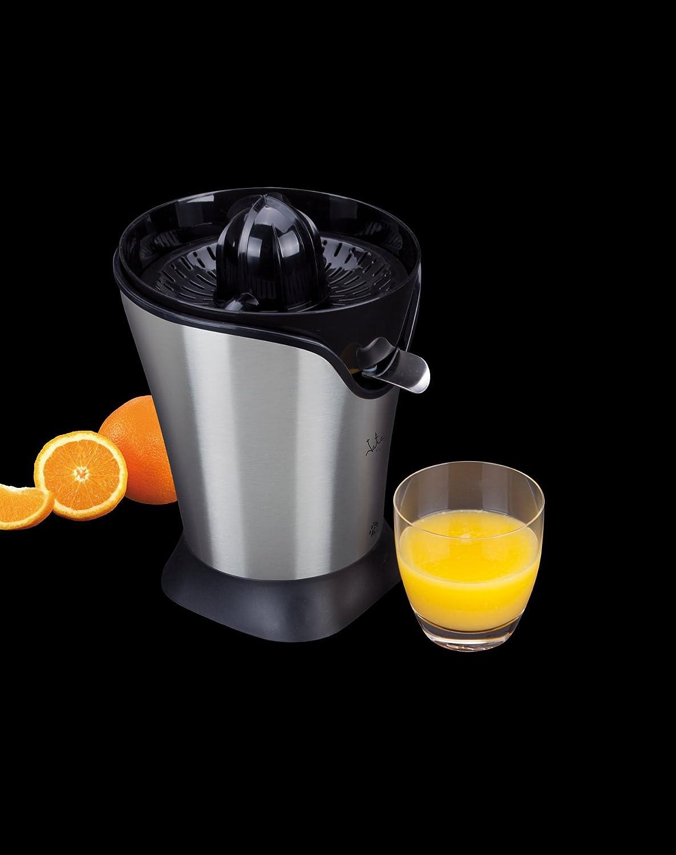 Jata EX544 Exprimidor Cuerpo, 90 W, 1 Liter, 0 Decibeles, Acero Inoxidable, plástico, Negro: Amazon.es: Hogar