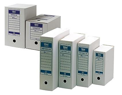 Definiclas Definclas - Contenedor de acceso superior, capacidad 5 archivadores