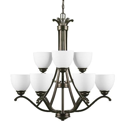 CO-Z 9 Lights Antique Bronze Chandelier Lighting, 2 Tier Traditional  Ceiling Light Fixture - CO-Z 9 Lights Antique Bronze Chandelier Lighting, 2 Tier Traditional