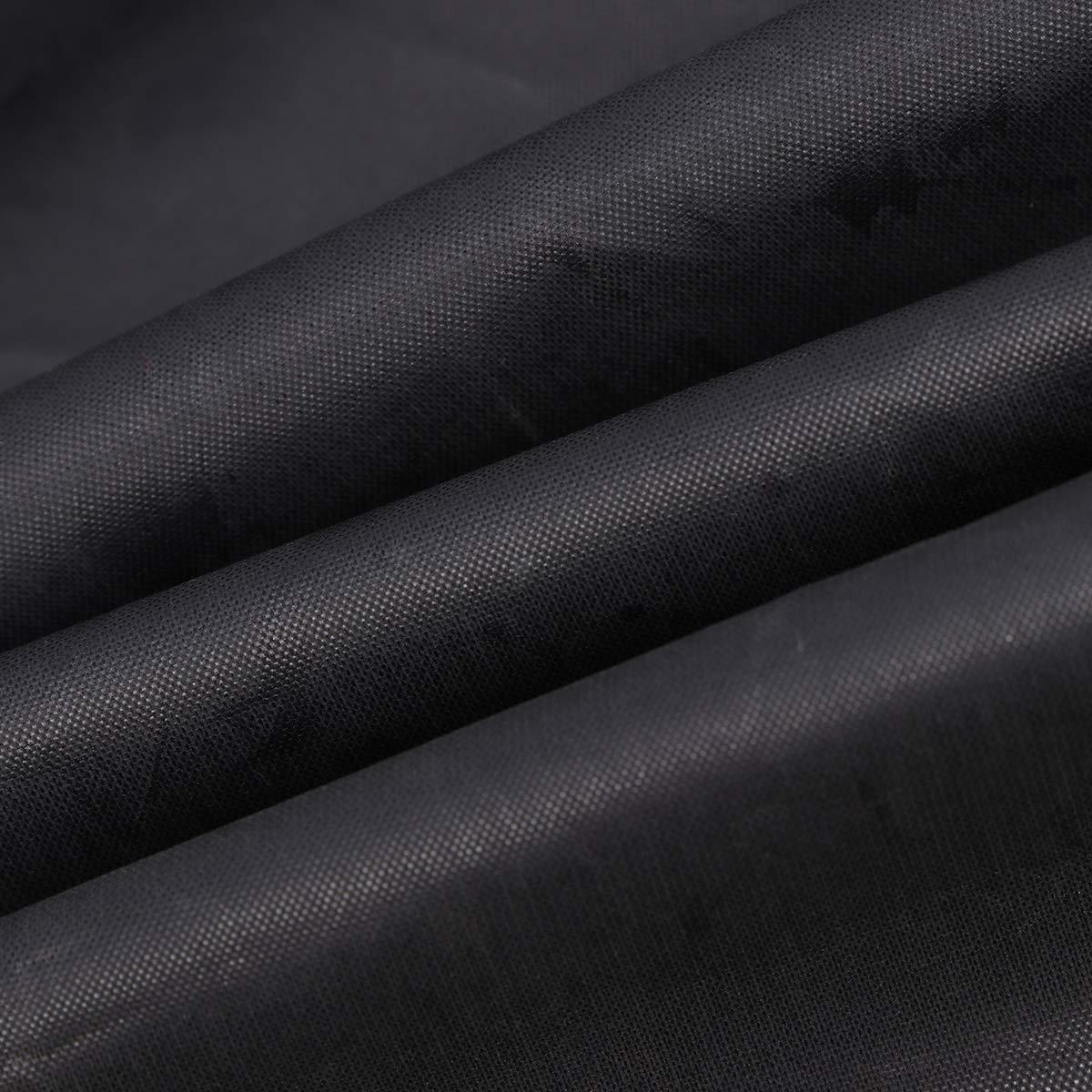 WINOMO 2pcs Coprisedile da auto nylon impermeabile universale auto veicolo Van Seggiolino Coperchio Protezione Nero
