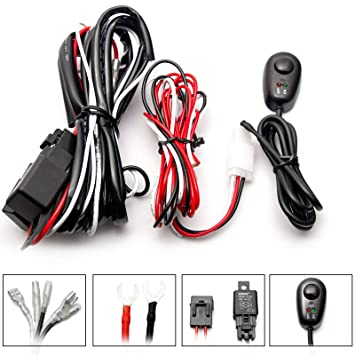 Details About Universal Relay Wiring Harness Kit W Fuse And Switch on