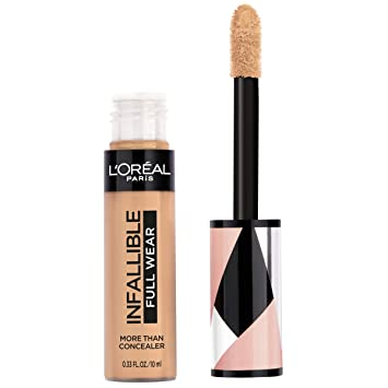 L'Oréal Paris Makeup Infallible Full Wear Concealer, Full Coverage, EXTRA LARGE Applicator