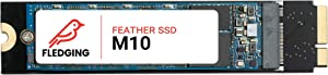 Feather M10 SSD (256GB) and Tools, macOS - SATA SSD Upgrade for Apple MacBook Air 2010 EMC 2392 and 2393, 2011 EMC 2471, 2469