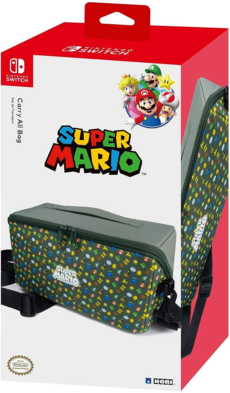Hori - Bolsa De Transporte Super Mario (Nintendo Switch): Amazon.es: Videojuegos
