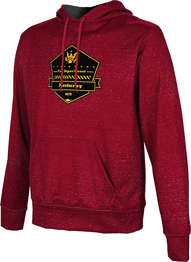 Amazon.com: ProSphere Boys Monterey Fire Department Heather Pullover Hoodie: Clothing