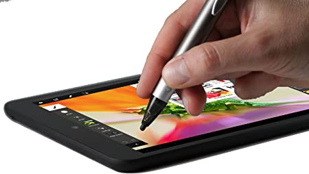 Navitech Precision Stylet Argent /à Pointe Fine Compatible avec Tablette Sony Xperia Z4 Tablet//Sony Xperia Z3 Tablet Compact//Sony Xperia Z2 Tablet