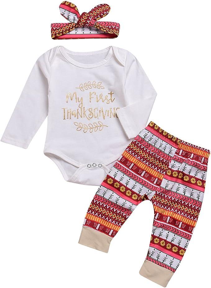 Amazon.com: Regalo de Navidad Bebé Niñas Niños Ropa Mi 1er ...