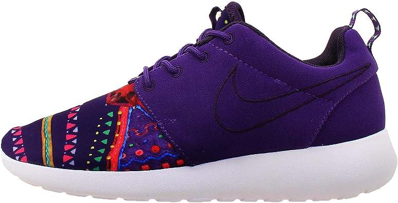 alivio Punto de referencia Parque jurásico  NIKE652875-500 - Nike Roshe Run Mp Qs Tenis de mujer Mujer , Morado  (Púrpura), 35.5 EU: Amazon.es: Zapatos y complementos