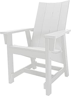 product image for Hatteras Hammocks Conversation Chair, White