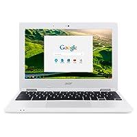 Acer Chromebook CB3-131-C3SZ 11.6-Inch Laptop (Intel Celeron N2840 Dual-Core Processor,2 GB RAM,16 GB Solid State Drive,Chrome), White